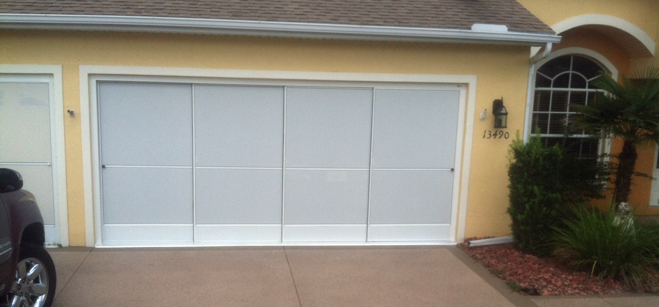 Garage Door Screens : Sliding garage screen doors enclosures