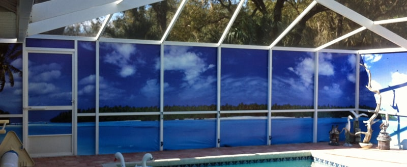Outdoor Privacy Screens For Patio Amp Pool Enclosures