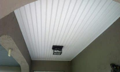 vinyl ceiling installation