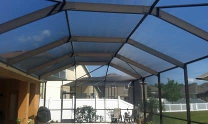 trinity pool enclosure rescreen