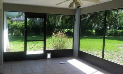 Screened in Porch in Floral City FL