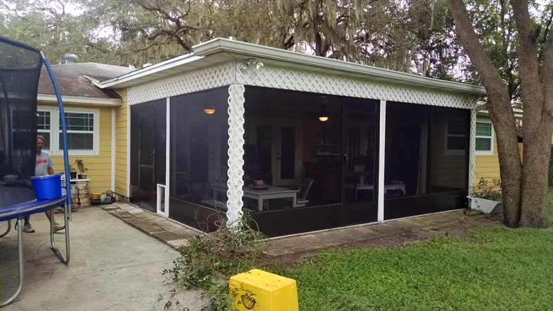 Porch Screening In Tampa Florida Screenpro