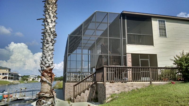 lanai rescreen in hernando beach fl