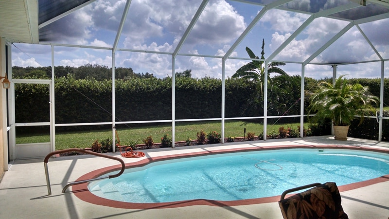 pool cage rescreen in ocala, fl