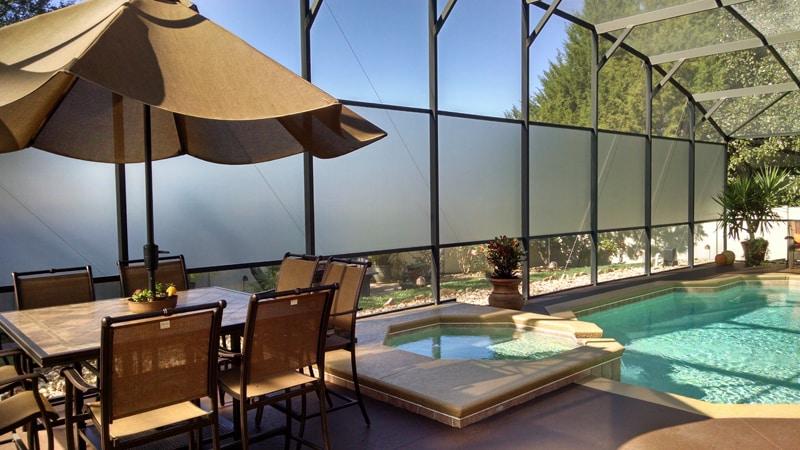 clermont florida glass pool enclosure 2