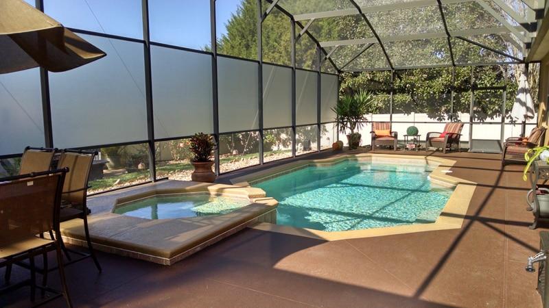 clermont florida glass pool enclosure 3