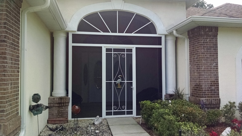 front entry way in brooksville fl